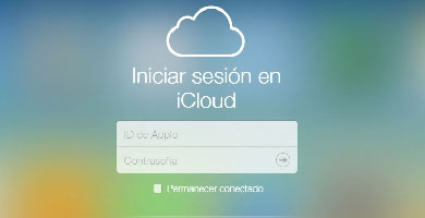 iniciar sesion icloud